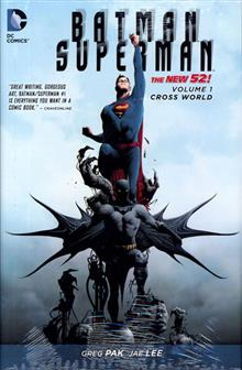 BATMAN SUPERMAN HC VOL 01 CROSS WORLD (N52)