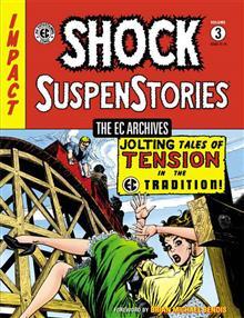 EC ARCHIVES SHOCK SUSPENSTORIES HC VOL 03 (C: 0-1-2)