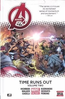AVENGERS TIME RUNS OUT PREM HC VOL 02
