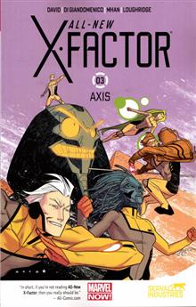 ALL NEW X-FACTOR TP VOL 03 AXIS