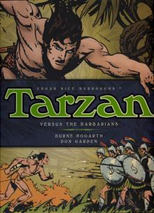 BURNE HOGARTH TARZAN HC VOL 02 VS BARBARIANS (C: 0-1-0)