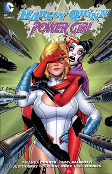 HARLEY QUINN AND POWER GIRL TP