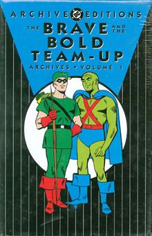 BRAVE AND THE BOLD TEAM UP ARCHIVES VOL 1 HC