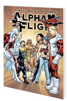 ALPHA FLIGHT VOL 2 WAXING POETIC TP