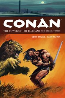 CONAN VOL 3 TOWER OF THE ELEPHANT & STORIES HC (C: