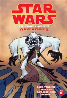 STAR WARS CLONE WARS ADVENTURES VOL 8 TP