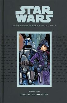 STAR WARS 30TH ANNIV COLL HC VOL 4 JANGO FETT ZAM  WESELL