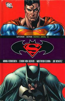 SUPERMAN BATMAN THE ENEMIES AMONG US HC