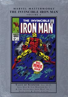 MARVEL MASTERWORKS INVINCIBLE IRON MAN VOL 4 NEW ED HC