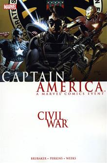 CIVIL WAR CAPTAIN AMERICA TP