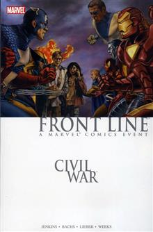 CIVIL WAR FRONT LINE BOOK 1 TP