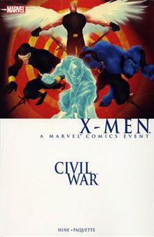 CIVIL WAR X-MEN TP