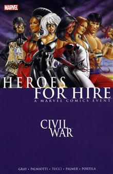 HEROES FOR HIRE VOL 1 CIVIL WAR TP