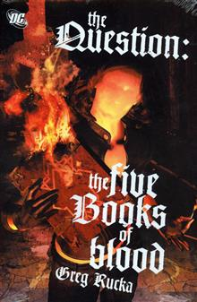 QUESTION THE FIVE BOOKS OF BLOOD HC