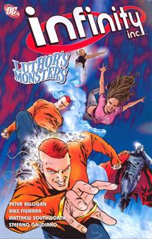 INFINITY INC TP VOL 01 LUTHORS MONSTERS