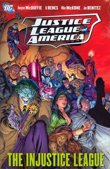 JUSTICE LEAGUE OF AMERICA VOL 3 INJUSTICE LEAGUE HC