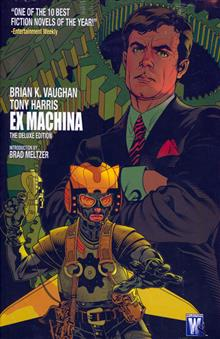 EX MACHINA DELUXE EDITION VOL 1 HC (MR)