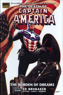 CAPTAIN AMERICA VOL 02 PREM HC DEATH OF CAPTAIN AMERICA DM VAR