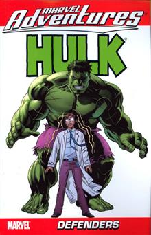 MARVEL ADVENTURES HULK TP DEFENDERS VOL 02 DIGEST