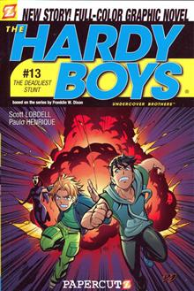 HARDY BOYS GN VOL 13 THE DEADLIEST STUNT