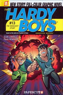 HARDY BOYS HC VOL 13 THE DEADLIEST STUNT