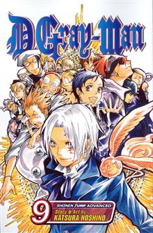 D GRAY MAN GN VOL 09