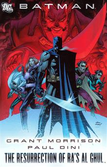 BATMAN THE RESURRECTION OF RAS AL GHUL TP