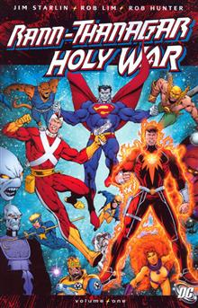RANN THANAGAR HOLY WAR VOL 1 TP