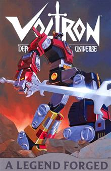 VOLTRON VOL 1 LEGEND FORGED TP
