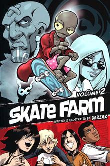 SKATE FARM GN VOL 2 (IDW)