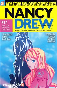 NANCY DREW VOL 17 NIGHT O/T LIVING CHATCHKE SC GN