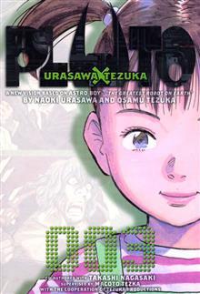 PLUTO URASAWA X TEZUKA GN VOL 03