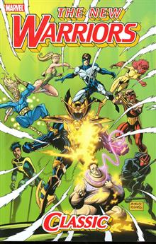 NEW WARRIORS CLASSIC TP VOL 2