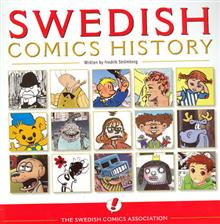 SWEDISH COMICS HISTORY SC (MR)