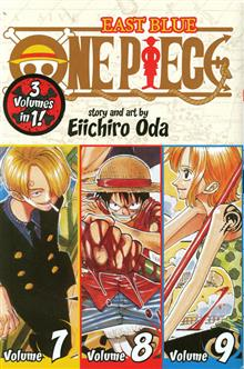 ONE PIECE COLL TP VOL 7 8 & 9 EAST BLUE