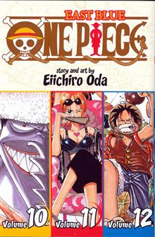 ONE PIECE COLL TP VOL 10 11 & 12 EAST BLUE (C: 1-0
