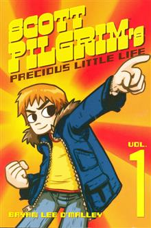 SCOTT PILGRIM VOL 1 SCOTT PILGRIMS PRECIOUS LITTLE