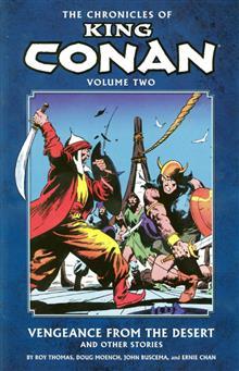 CHRONICLES OF KING CONAN TP VOL 02