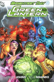 GREEN LANTERN BRIGHTEST DAY HC