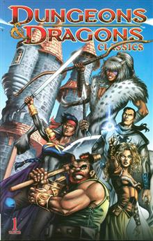 DUNGEONS & DRAGONS CLASSICS TP VOL 01