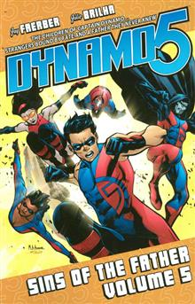 DYNAMO 5 TP VOL 05 SINS OF THE FATHER