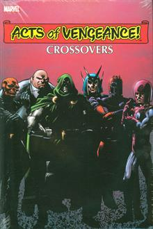 ACTS OF VENGEANCE CROSSOVERS OMNIBUS HC DM VAR ED
