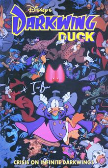 DARKWING DUCK TP VOL 02 CRISIS ON INFINITE DARKWINGS Signed Edition