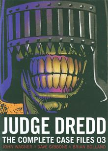 JUDGE DREDD COMP CASE FILES TP (S&S ED) VOL 03