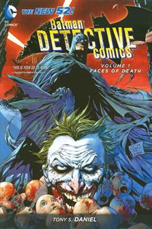 BATMAN DETECTIVE COMICS HC VOL 01 FACES OF DEATH