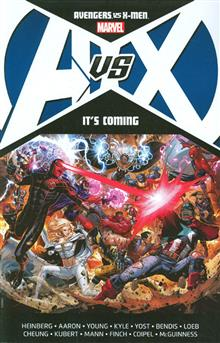 AVENGERS VS X-MEN ITS COMING TP