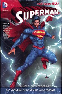 SUPERMAN HC VOL 02 SECRETS AND LIES (N52)