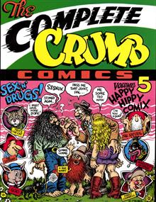 COMPLETE CRUMB COMICS TP VOL 05 HAPPY HIPPY (MR)