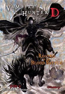 VAMPIRE HUNTER D NOVEL VOL 21 BLOOD BATTLE (MR)