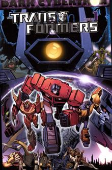 TRANSFORMERS DARK CYBERTRON TP VOL 01